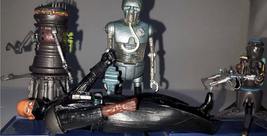 Chopper Droid Figure Darth Vader S Medical Droid Revenge Of The Sith Collection 2005 Action Figure Star Wars