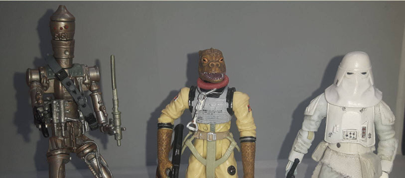 Bossk Figure Imperial Forces Vintage Collection 2011