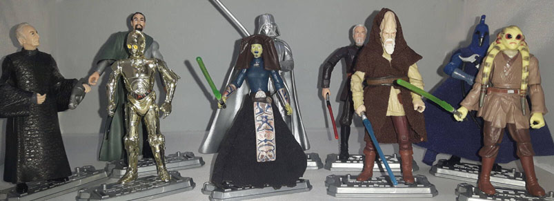 Revenge Of The Sith Collectors Pack Revenge Of The Sith Collection 2005 Action Figure Star Wars